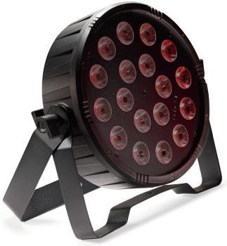 Flat ECOPAR 18 spotlight with 18 x 1-watt RGB (3 in 1) LED (ST-SLI-ECOPAR18-1)