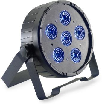 Flat ECOPAR 6 spotlight with 6 x 12-watt RGBWAUV (6 in 1) LED (ST-SLI-ECOPAR6-1)