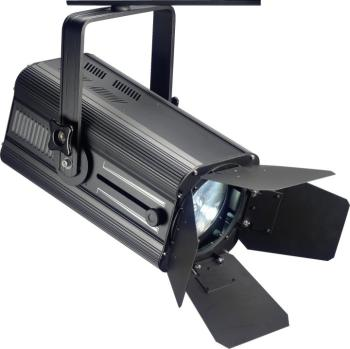 200-watt wash spotlight, warm light, black metal case (Wash 200) (ST-SLW200ZD32B-1)