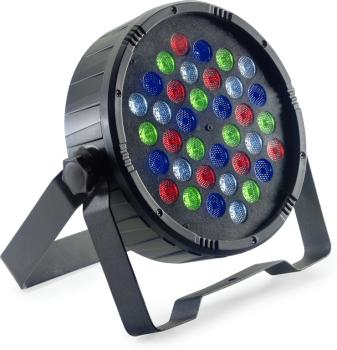 Flat ECOPAR 36 spotlight with 36 x 1-watt R/G/B/W LED (ST-SLI-ECOPAR36-1)