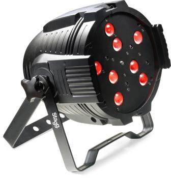 LED spotlight with 8 x 8W RGBW 4-in-1 LEDs +motorized zoom-US power co (ST-SLI KINGPAR4Z-1)