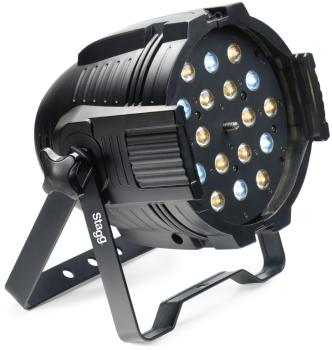 LED spotlight with 18 x 3W Cold and Warm White LEDs+motorized zoom (ST-SLI KINGPAR6Z-1)