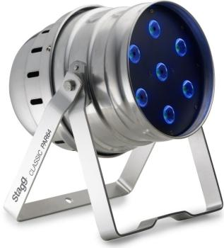 """Classic"" LED spot with 7 extremely bright 8W RGBW (4 in 1) LEDs (ST-SLI CLPA641-1AL)"