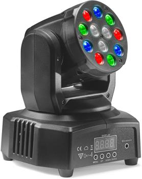 HeadBanger 6 moving head with 12 x 3-watt R/G/B LED (Headbanger Mini 6 (ST-SLI MHB HB6-1)