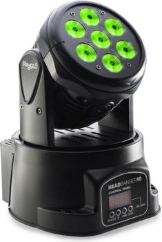 HeadBanger 10 LED moving head with 7 x 10-watt RGBW 4-in-1 LED (ST-SLI MHW HB10-1)