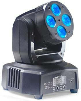 HeadBanger 8 moving head with 4 x 10-watt RGBW LED (Headbanger Mini 8) (ST-SLI MHW HB8-1)