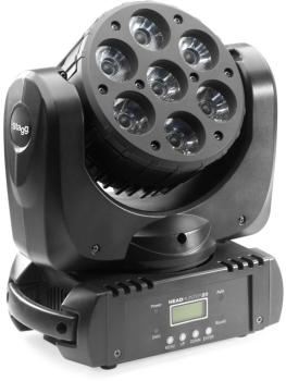 HeadHunter 20, LED Beam Moving Head with 7x 10W (4-in-1, RGBW) USA CRE (ST-SLI MHB HH20-1)