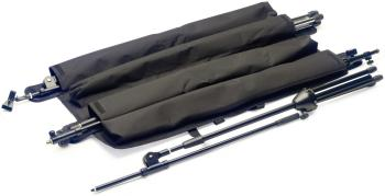 Strong BLACK nylon wraparound bag with inner pouches for 4 x Mic stand (ST-MISB SET 4)