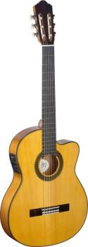 4/4 cutaway acoustic-electric flamenco classical guitar with thin body (AN-CF1246TCFI-S)