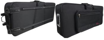 Lightweight soft case for keyboard, with wheels & handle (ST-KTC-150Y)