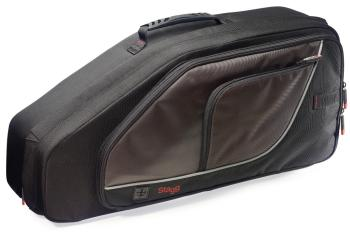 Lightweight, Deluxe wear-proof nylon soft case for alto saxophone (ST-SC-AS)