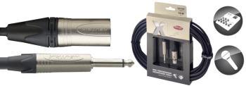 X-Series Professional Microphone Cable - XLR F / Phone Plug (ST-XMC10XP)
