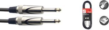 """Instrument cable, jack/jack (m/m), 3 m (10""""), heavy-duty connectors, S (ST-SGC3DL)"""