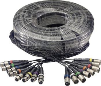 30 m/100 ft. Multicore Cable - 8 x f. XLR/8 x m (ST-SML30/8XF8XM E)