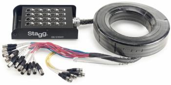 S-Series Stagebox - 16x XLR F Inputs/ 4x XLR M Outputs (ST-SSB-15/16X4XH)