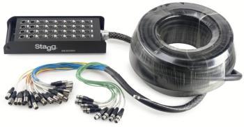 S-Series Stagebox - 24x XLR F Inputs/ 8x XLR M Outputs (ST-SSB-30/24X8XH)