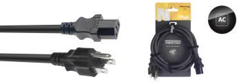 N-Series IEC F - US NEMA 5-15P M Power Cable (ST-NPW1,5IECFPUS15)