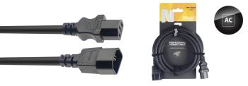 N-Series IEC F - IEC M Power Extension Cable (ST-NPW1,5IECMF10)