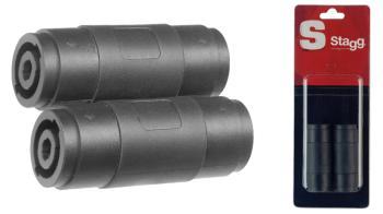 2x Female speaker plug/ female speaker plug adapter in blister packagi (ST-AC-SFSFH)