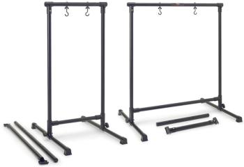 Metal gong stand with 2 interchangeable crossbar tubes for length adju (ST-GOS-0828)