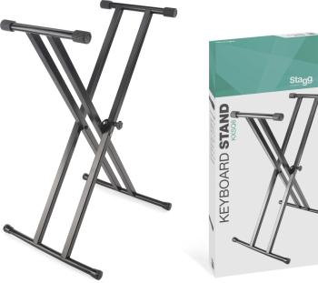 Double Braced X-Style Keyboard Stand - Welded (ST-KXSQ6)