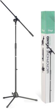Microphone boom stand with folding legs (ST-MIS-1022BK)
