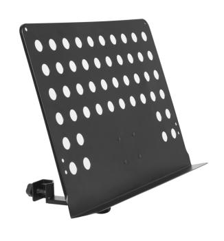 Large perforated music stand plate with attachable holder arm (ST-MUS-ARM 2)
