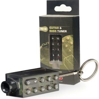 TEKO pocket/key ring tuner for guitar or bass (ST-TEKO)