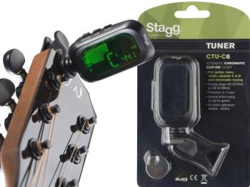 Automatic Chromatic clip-on tuner (ST-CTU-C6)