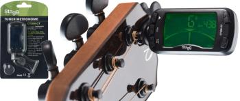 Automatic Chromatic clip-on tuner and metronome (ST-CTUM-C7)