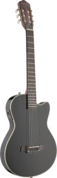 Electric solid body classical guitar with cutaway (AN-EC3000CBK)