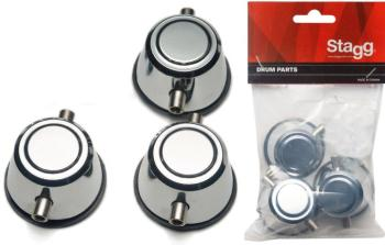 Piccolo snare lug (3pcs) with mounting screws (ST-1D-SR/P-HP)