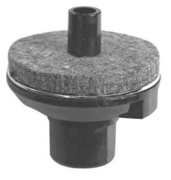 Hi-Hat seat (8 mm rods) with felt & steel bottom washers (10 pcs/ bag) (ST-8B-HP)
