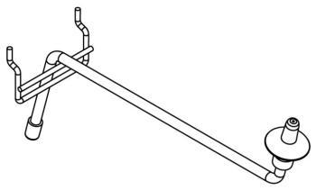 Cymbal display arm - 1 pc (ST-DIS-CYH25)
