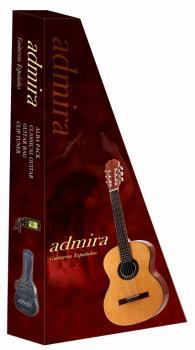 Guitar pack with Admira Alba 4/4 classical guitar, Beginner series, tu (AD-ALBA PACK)