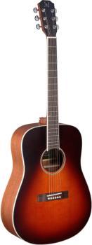 4/4 acoustic dreadnought guitar with solid cedar top, Ezra series (JN-EZR-D)