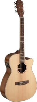 Asyla series 4/4 cutaway auditorium acoustic-electric guitar with soli (JN-ASY-ACE)
