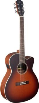 4/4 cutaway acoustic-electric orchestra guitar with solid cedar top, E (JN-EZR-OMCFI)
