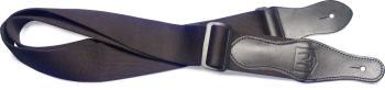 Black coton guitar strap (JN-JN-ST COT BLK)