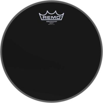 "10"" Ebony Ambassador Tom/ Snare Head (RE-ES-0010-00)"