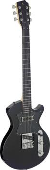Electric guitar, Silveray series, Custom model, with solid alder body (ST-SVY CST BK)