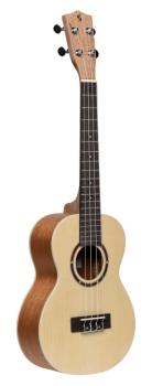 Traditional tenor ukulele with spruce top and black nylon bag (ST-UT-30 SPRUCE)