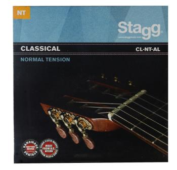 Nylon/silver plated wound set of strings for Classical guitar (ST-CL-NT-AL)