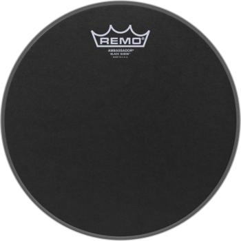 "10"" Black Suede Ambassador Tom/ Snare Head (RE-BA-0810-ES)"