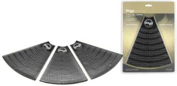"""Cymbal gel control pads for 5"""" to 20"""" cymbals, trimmable and reusable (ST-CGC-03 BK)"""