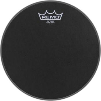 "10"" Black Suede Emperor Tom/ Snare head (RE-BE-0810-ES)"
