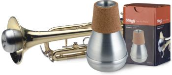 Compact practice mute for trumpet (ST-MTR-P3A)