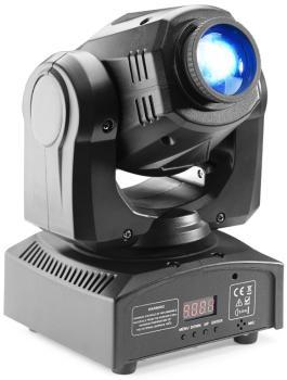 Gobo moving head with 30-watt COB LED, 7 colours, 7 gobos (ST-SLI MHBTAGG30-1)