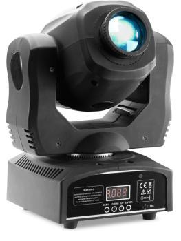 Gobo moving head with 60-watt COB LED, 7 colours, 7 gobos (ST-SLI MHBTAGG60-1)
