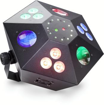 Multi-effects box with red and green lasers, 3 colour wash, strobe and (ST-SLE-TRANCE60-1)